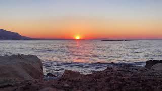 Timelapse Sunset: Greece, Crete, Malia