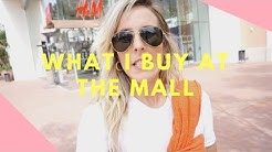 WHAT I BUY AT THE MALL// IRVINE SPECTRUM CENTER