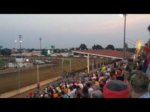 USAC Sprint Car Feature Part 1/3 Terre Haute Action Track