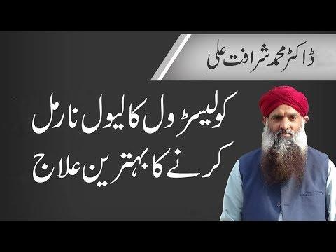 Cholesterol Kam Karne Ka Tarika in Urdu/Hindi Dr Muhammad Sharafat Ali | Reduce Cholesterol Tips