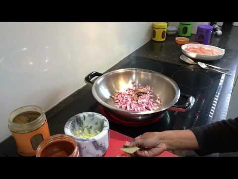 Making a Durban Curry