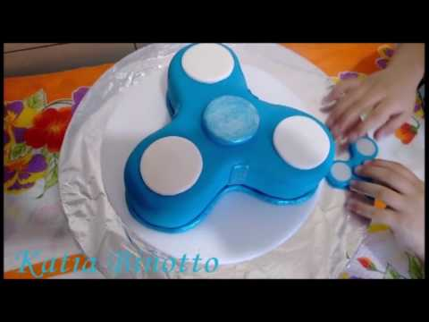 How To Make A Fidget Spinner Cake
