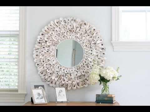 Make an Oyster Shell Mirror