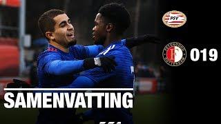 Samenvatting | PSV O19 - Feyenoord O19 2018-2019...