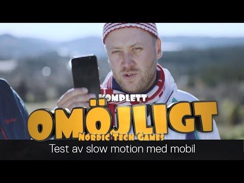 Komplett Omöjligt - Test av slowmotion med mobil - S02E01