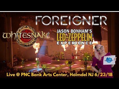 Foreigner, Whitesnake & Jason Bonham's Led Zeppelin LIVE Holmdel NJ *cramx3 concert experience* Mp3