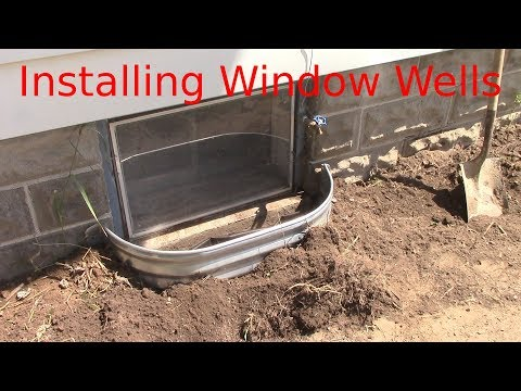 Installing Window Wells
