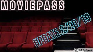 MOVIEPASS Update 2/20/19