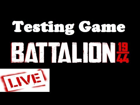 Testing Battalion 1944 Game Play LIVE |