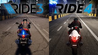 RIDE 3 vs RIDE 4 | Direct Comparison