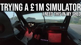I Got To Try Out A £1,000,000 Racing Simulator