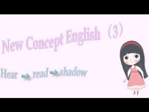 (3.1)New Concept English (3)Lesson 1: A puma at large 新概念3 第一课 逃遁的美洲狮 hear read shadow