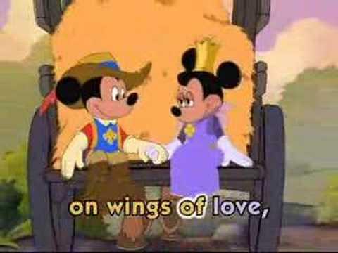 Sweet Wings Of Love sing along- Micky, Donald, Goofy