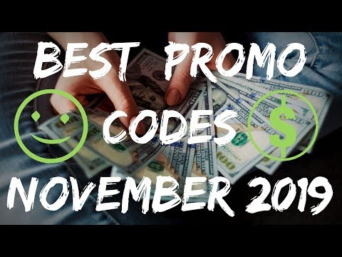 BEST PROMO CODES IN THE WORLD NOVEMBER 2019 🤑 FREEBIES 🎁