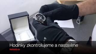 Jak balíme hodinky v Helveti cz