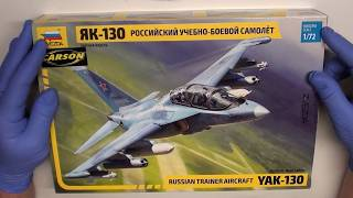 YAK 130 - Zvezda 1:72 scale - Review by Da Costa