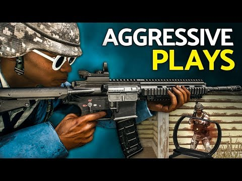 PUBG | Playing Aggressively (Suppressed SKS + M416 Gameplay)