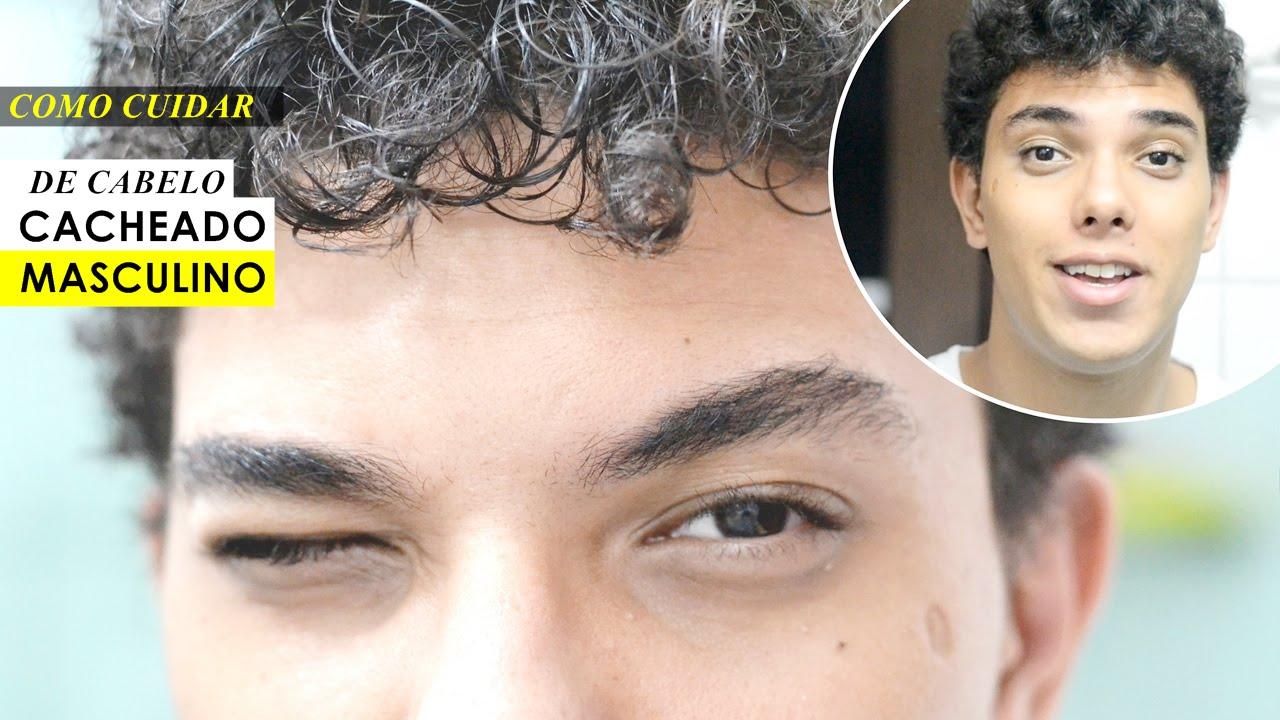 Favoritos Cabelo Cacheado Masculino- Como cuidar e arrumar o seu cabelo  SG93