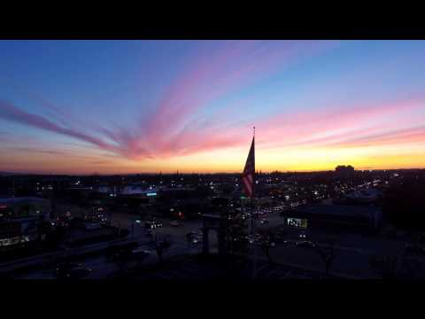 Sunset in Monrovia Ca
