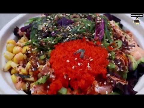 Love Art Sushi - Boston,MA - Fenway Special PokeBowl & Spicy Hawaiian PokeBowl - Fresh Ingredients