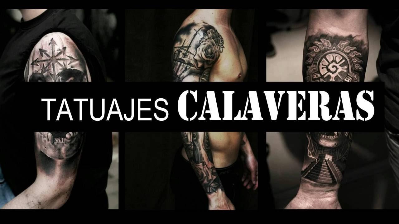 Tatuajes De Calavera Para Hombre Skulls Tattoos Youtube