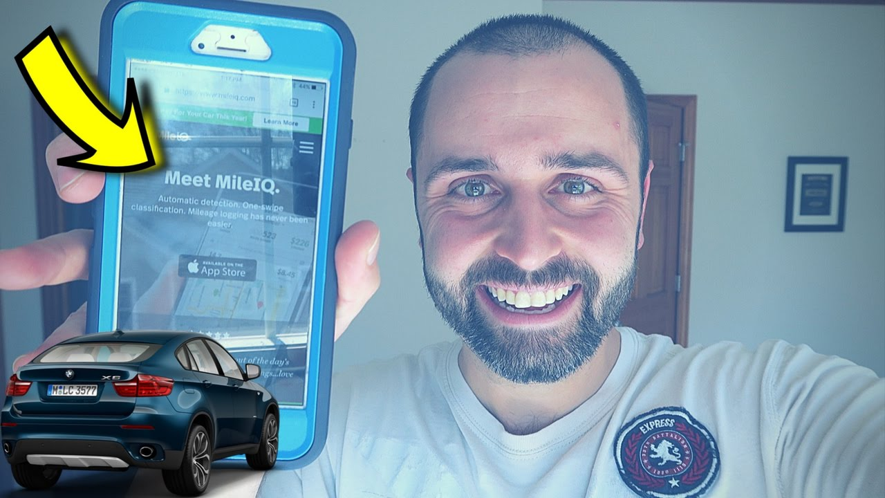 track your car mileage in your reselling business with the mileiq