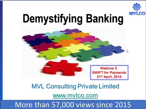 Demystifying Banking Series-Session V-SWIFT for Payments
