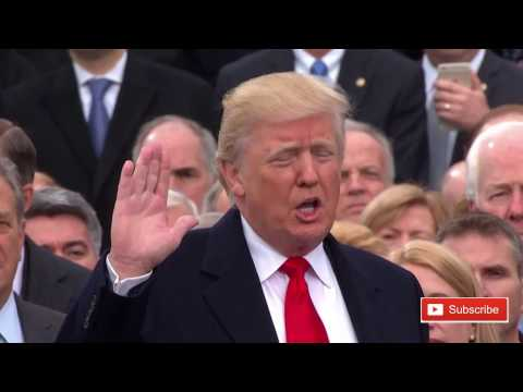 Donald Trump Swearing In Ceremony Takes Oath Of Office Presidential Inauguration Trump ✔