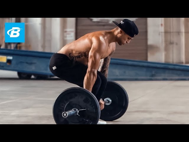 Barbell Deadlift Bent Row Complex   Exercise Guide