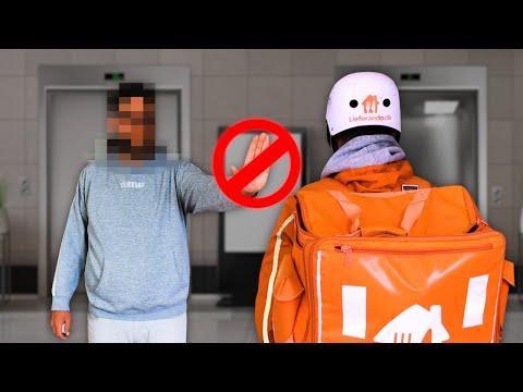 Fahrstuhl verweigert? | Lieferando Storytime