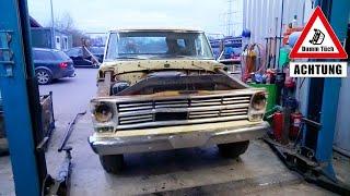 Probefahrt im Ford F250 V8 | Dumm Tüch