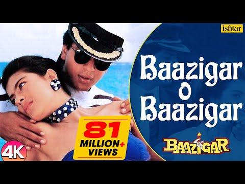 Baazigar O Baazigar - 4K VIDEO SONG | Shahrukh \u0026 Kajol | Baazigar | 90's Superhit Hindi Love Song indir