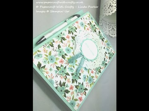 A5 Covered Notebook With Pen Holder