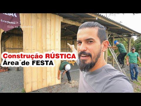 PAREDES DA ÁREA DE FESTA RÚSTICA Família X Dia 125