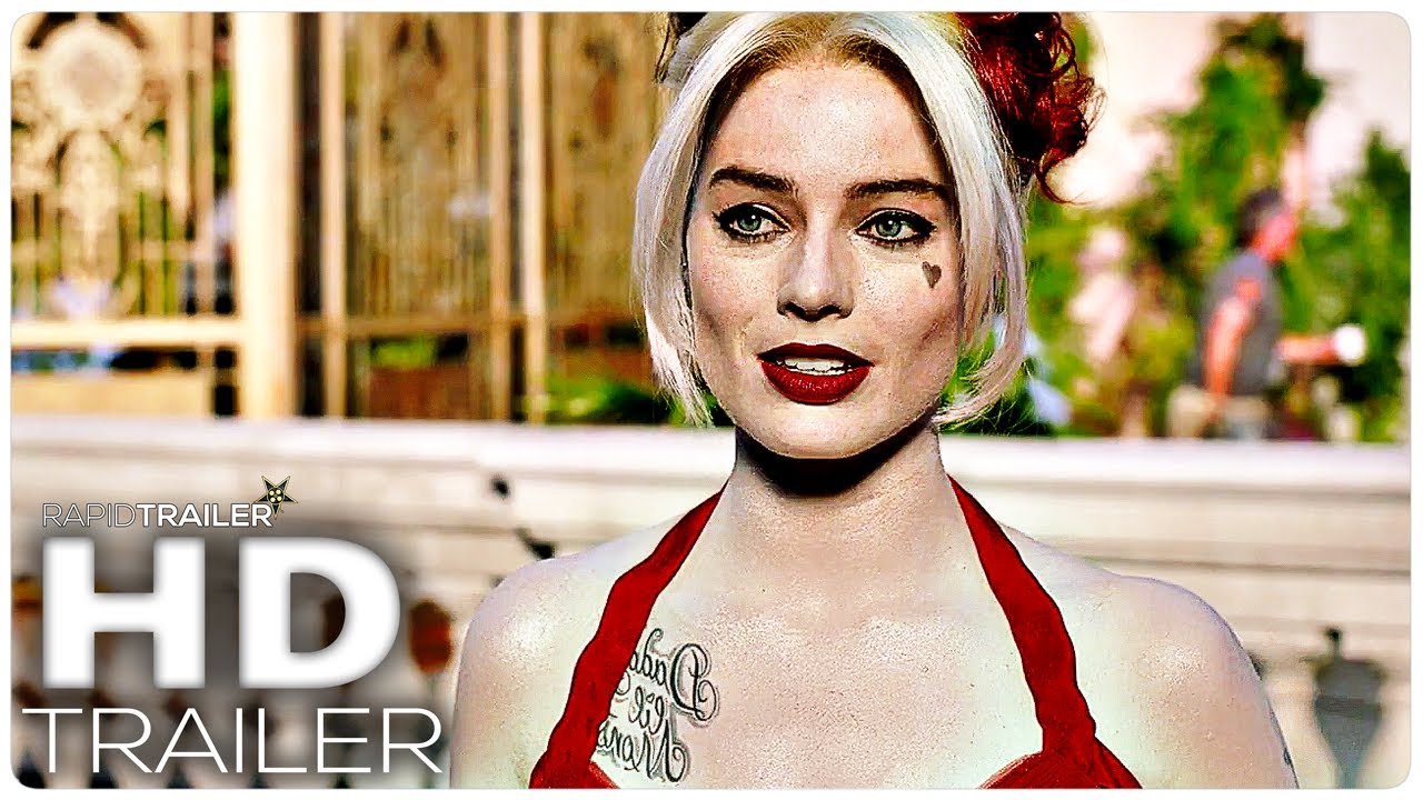 THE SUICIDE SQUAD Sneak Peek Trailer (2021) Margot Robbie, John Cena Superhero Movie HD