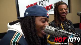 Jacquees' Reaction To DC Young Fly's Roast Video Of His Feet