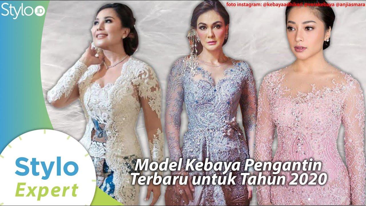 Model Baju Kebaya Pengantin Terbaru yang Jadi Tren Fashion 11 (Desainer  Kebaya Indonesia) Stylo.ID