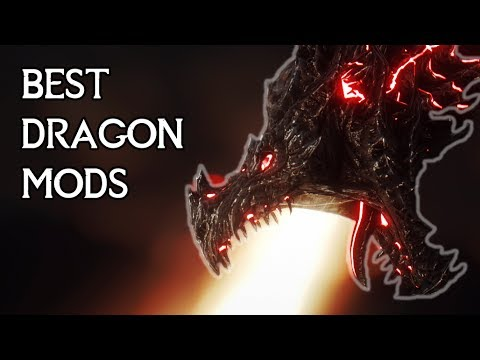 The Best Skyrim DRAGON Mods (PC, XBOX)
