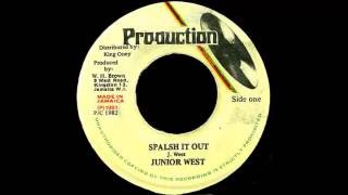 Download Junior West - Spalsh It Out MP3 song and Music Video