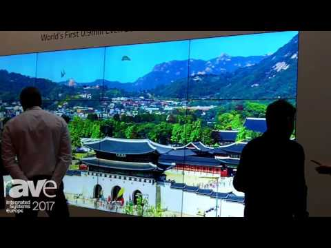 ISE 2017: LG Shows 1.8mm Bezel-to-Bezel Video Wall Solution and 88-inch Ultra Stretch Display