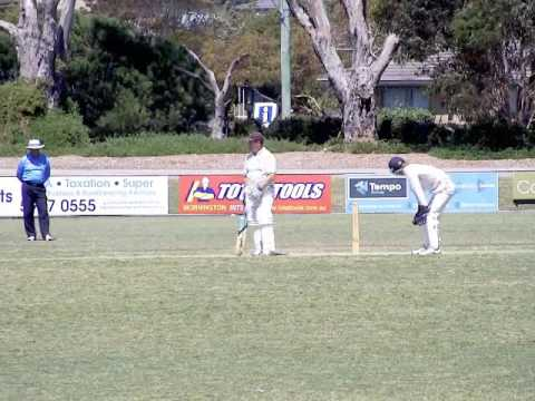 MPCA Cricket Mornington vs Peninsula Old Boys (POB) 19 Nov 2016