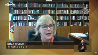 Rosa Weber: Ataques destrutivos contra STF configuram crimes