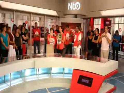 Els treballadors de RTVV ocupen l'estudi d'informatius