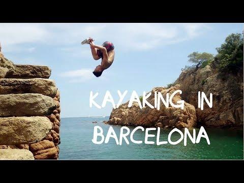 Kayak In Barcelona Seas | Travel Stoke