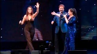 En el Luna Park con Los Pimpinela | ANGELA LEIVA