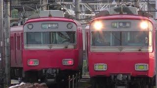 名鉄2017東枇杷島駅2【4K】