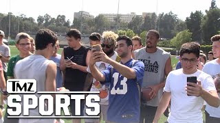 Odell Beckham Swarmed By UCLA Students After Summer Workout | TMZ Sports