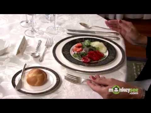 Basic Dining Etiquette - The Salad Course