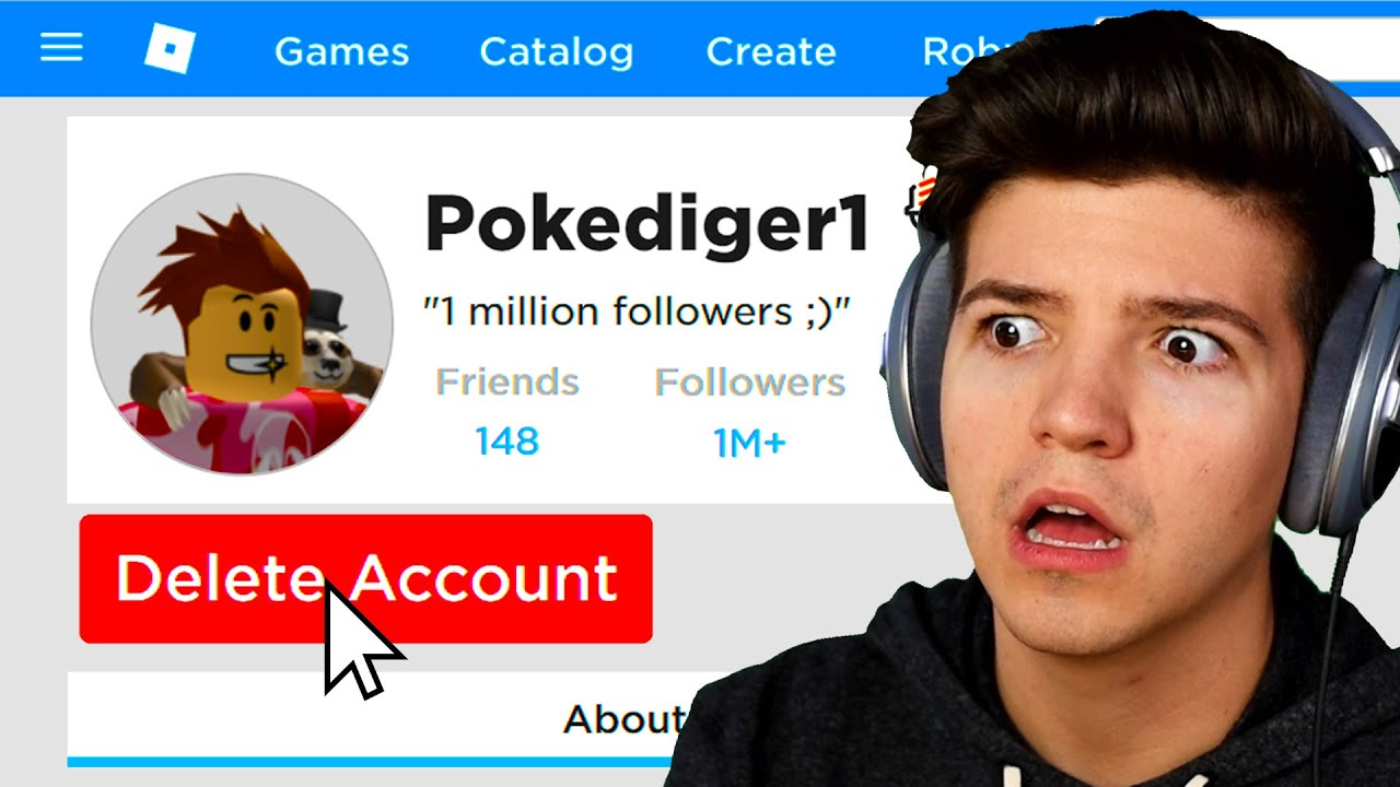 If Poke Loses I Delete His Account Roblox Youtube
