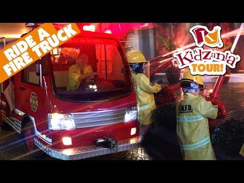Kidzania Philippines | Manila Tour Kids Indoor Theme Park Pretend Playroom || Keiths Toy Box